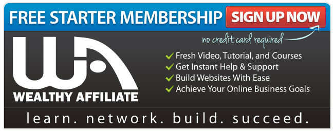 Join Wealthy Affiliate Free Membership