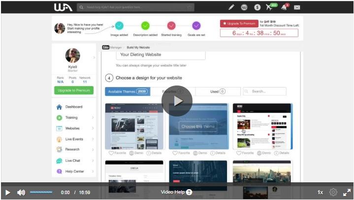 Create A Website In 30 Seconds