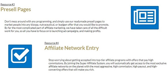Super Affiliate System Targeting Data