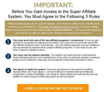Super Affiliate System Limitations