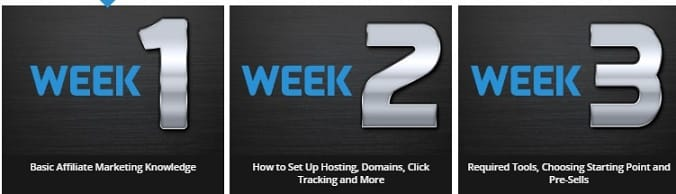 The 12 Week Super Affiliate System Content