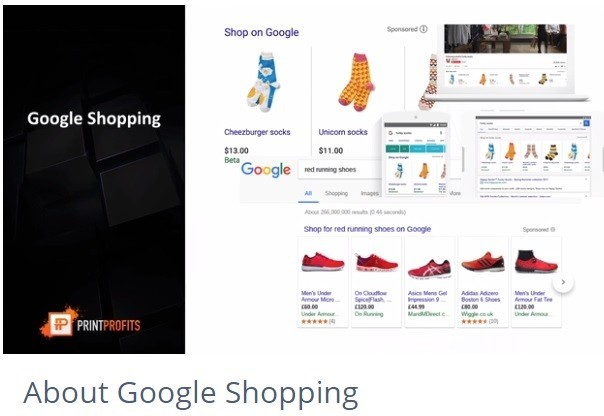 Google Shopping for POD