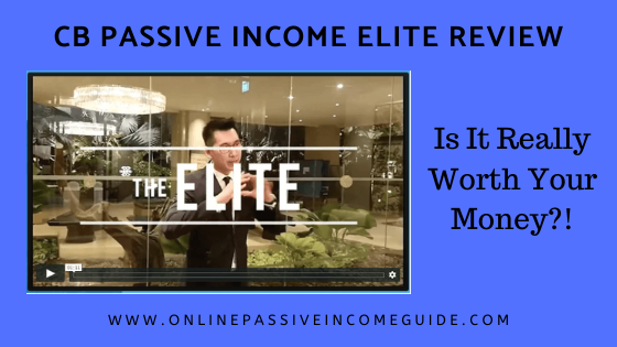 CB Passive Income Elite Review