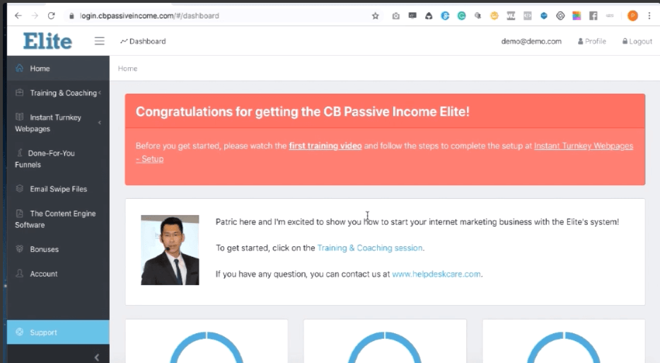 Inside CB Passive Income Elite