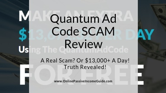 Quantum Ad Code Review - Is It A Scam