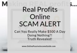 Real Profits Online Review - Is It A Scam