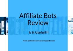 Affiliate Bots Review - Is It A Scam