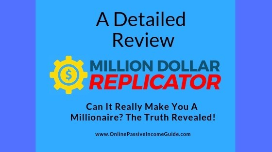Million Dollar Replicator Review - Is It A Scam Or Legit
