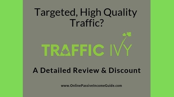 Traffic Ivy Review - Is It A Scam Or Legit