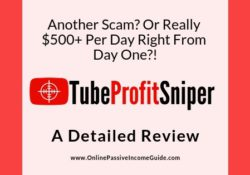 Tube Profit Sniper Review - Is It A Scam Or Legit