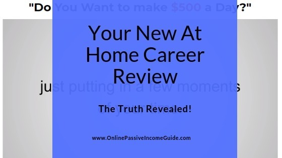 Your New At Home Career Review - Is It A Scam