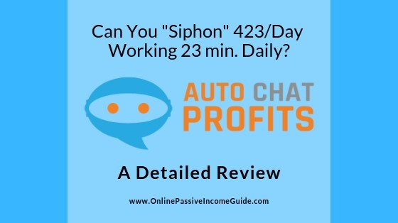 Auto Chat Profits Software Review