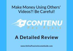 Contenu Review - Is It A Scam Or Legit
