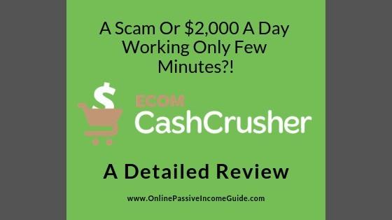 Ecom Cash Crusher System Review