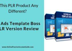 FB Ads Template Boss PLR Review