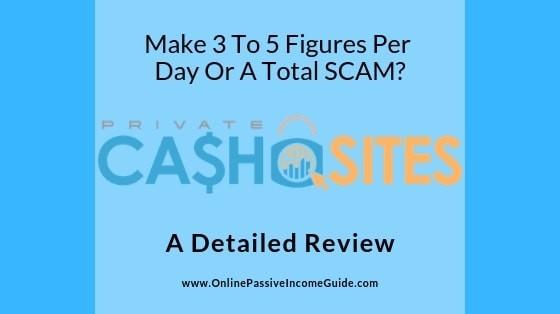 Private Cash Sites Program Review