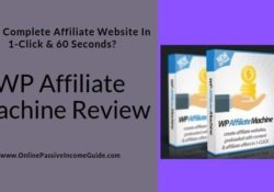 WP Affiliate Machine Software Review