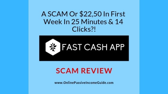 Fast Cash App Review - A Scam Or $2,475/Day?!