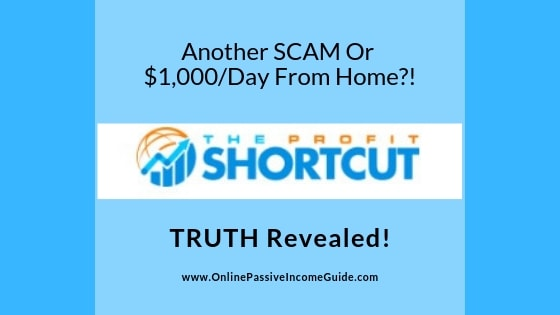 The Profit Shortcut Review - A Scam Or Legit