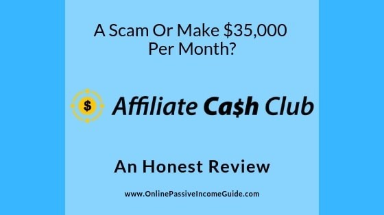 Affiliate Cash Club Scam Review