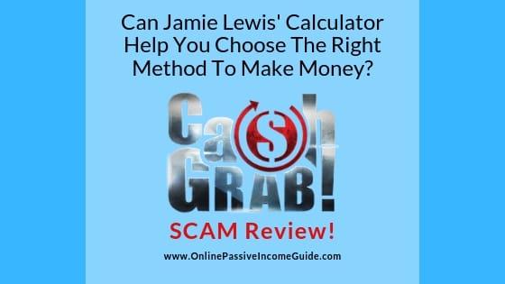 Cash Grab Review - A Scam Or Legit