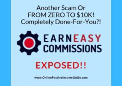 Earn Easy Commissions Review - A Scam Or Legit