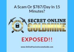 Secret Online Goldmine Review - A Scam Or Legit