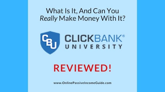 ClickBank University 2.0 Scam Review