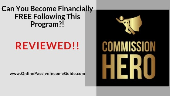 Commission Hero Affiliate Marketing Thanksgiving Deals 2020