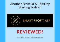 Smart Profit App Review