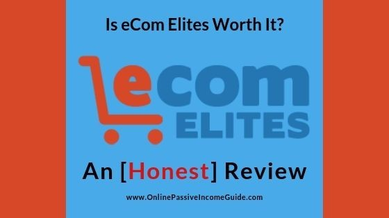 eCom Elites Review - Best Shopify Dropshipping Course
