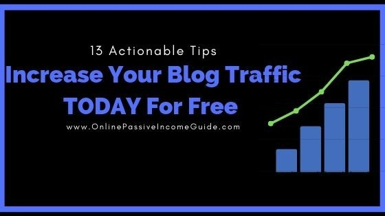 How To Increase Blog Traffic For Free In 2019 (13 Effective Ways)