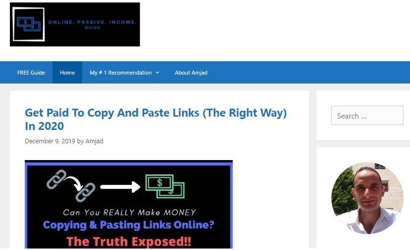 Affiliate Marketing Blog Example