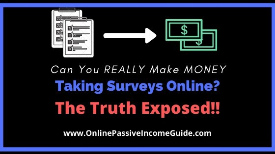 Can You Make Money Doing Online Surveys