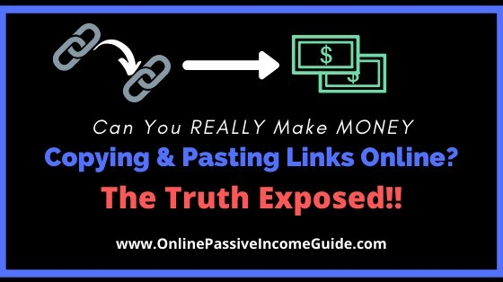 Get Paid To Copy And Paste Links Online