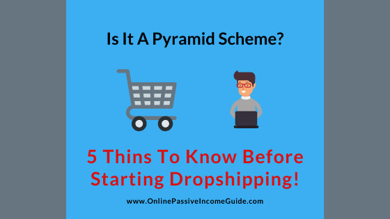 Is Dropshipping A Pyramid Scheme Or MLM?