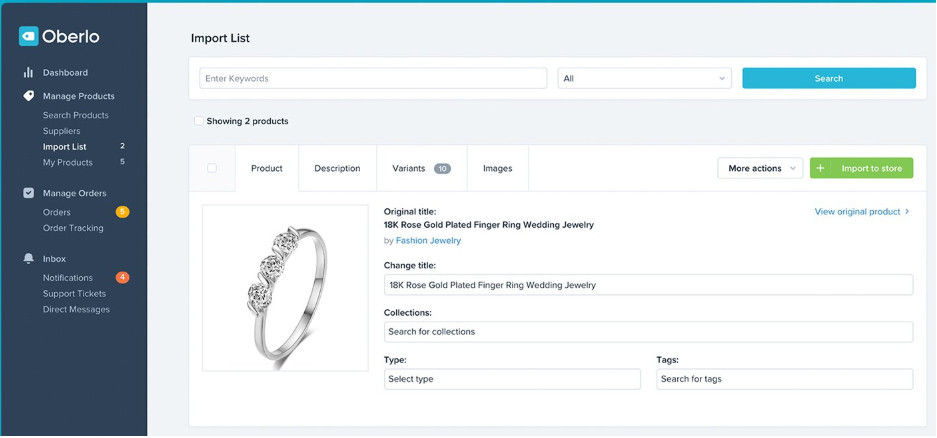 Salehoo And Shopify Dropshipping Automation