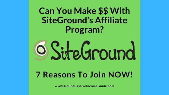SiteGround Affiliate Program Review - Is It Worth It?