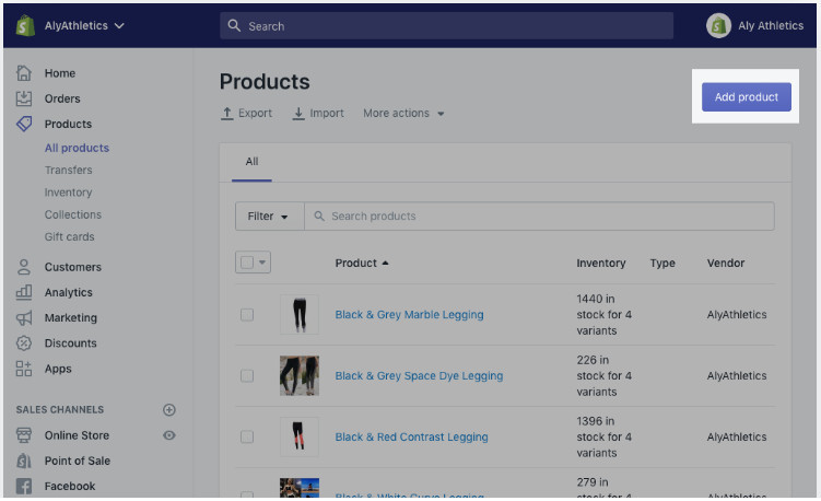 Add Products To Shopify 90-Day Free Store
