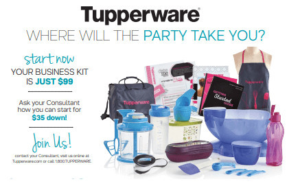 Cost Of Joining Tupperware