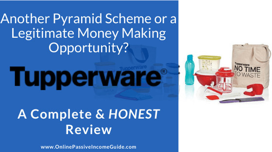 Is Tupperware a Pyramid Scheme? Tupperware MLM Review