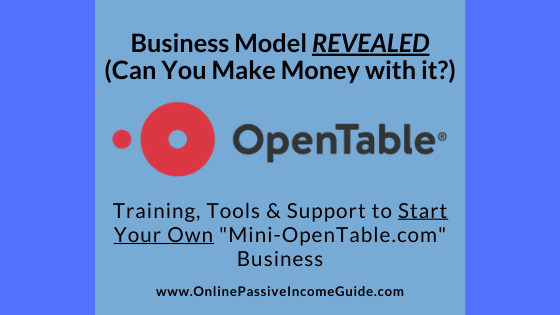 How OpenTable Makes Money
