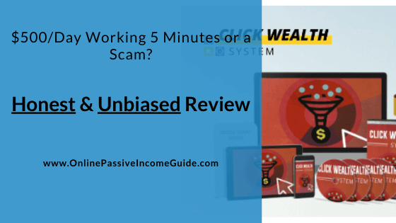 Honest Click Wealth System Review