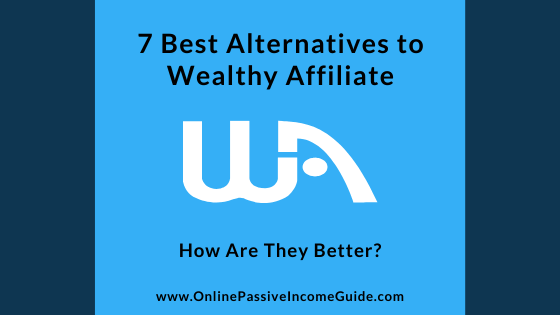 Best Wealthy Affiliate Alternatives