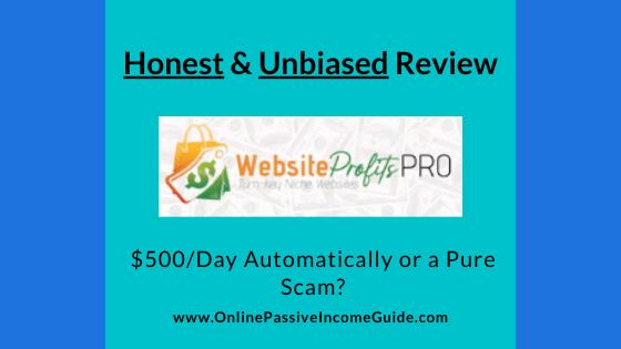 Honest Website Profits Pro Review