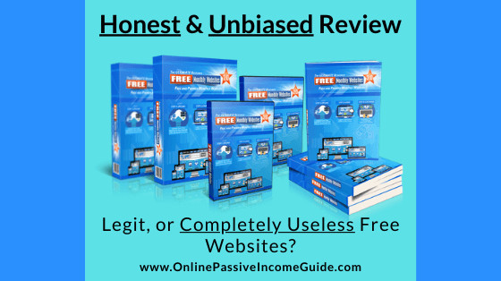 Honest Free Monthly Websites 2.0 Review
