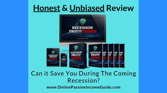 Honest Recession Profit Secrets Review